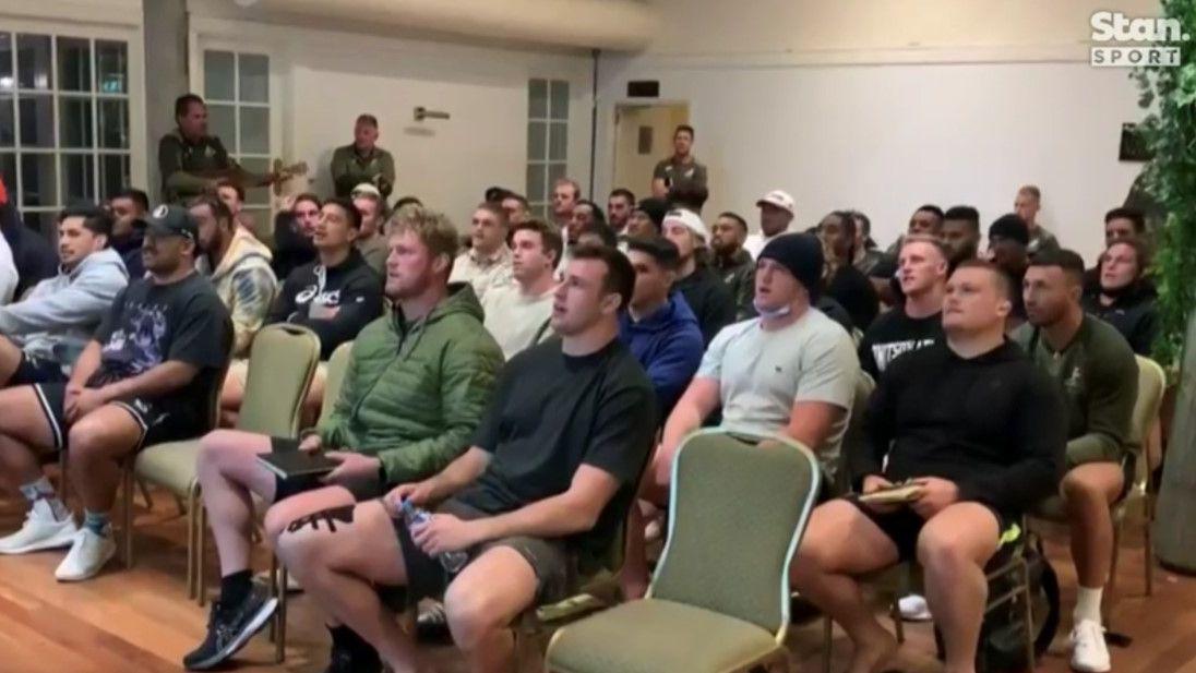 The Wallabies' Kiwi coach is a quiet guitar hero