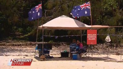 The Australia Day show force against Chinese developer's island takeover
