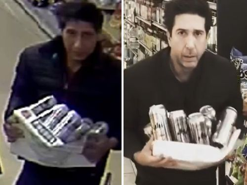 David Schwimmer weighs in on lookalike