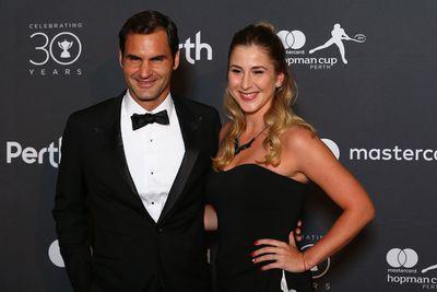 <strong>SWITZERLAND: Roger Federer and Belinda Bencic. (Getty)</strong>