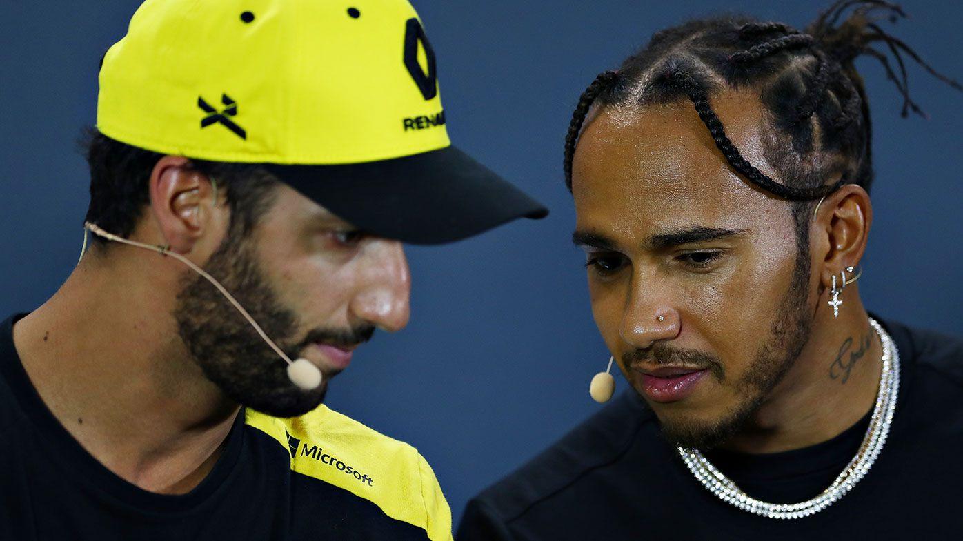 Daniel Ricciardo and Lewis Hamilton could be teammates in 2021.