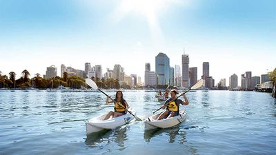 Kayaking with Riverlife, Brisbane