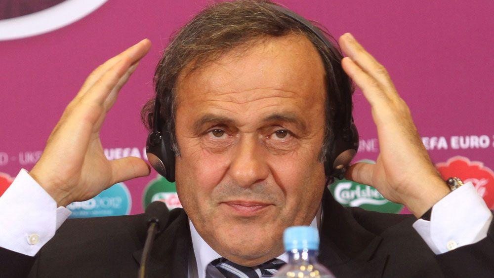 Michael Platini. (AAP)