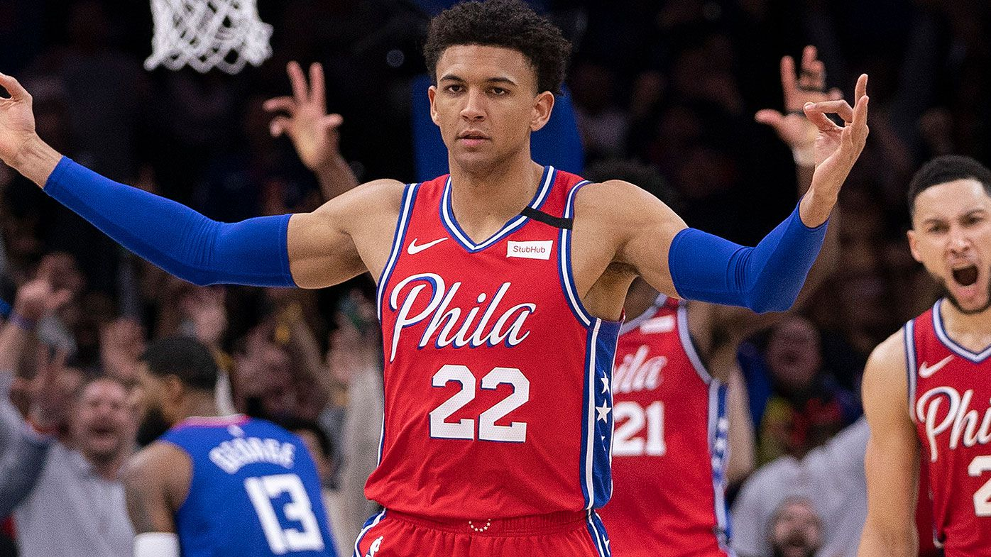 76ers' Thybulle wants to play for Boomers