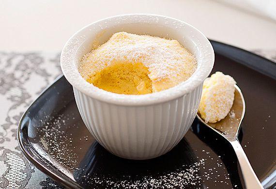 Weight Watchers' orange delicious pudding