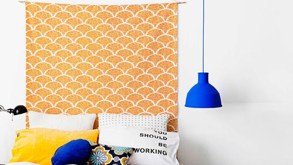Fabric wallhanging