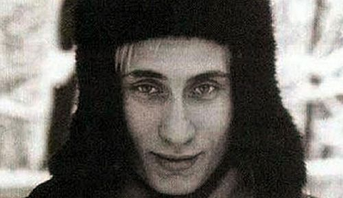 Vladimir Putin as a young man.