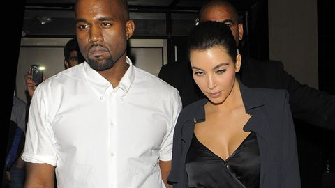 Kim K bans single women from going backstage at Kanye's concerts