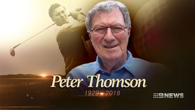 Australian golf legend Peter Thomson loses long battle with Parkinson's disease aged 88