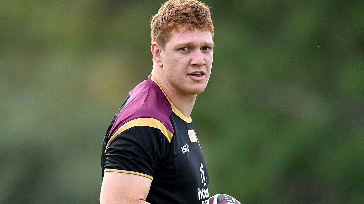 Maroons enforcer Napa set to play Origin II with broken wrist