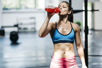 Sports drinks are vital during and after a workout