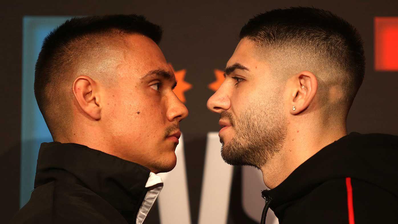 Tim Tszyu, Michael Zerafa exchange barbs at heated press conference, rivalry fight locked in