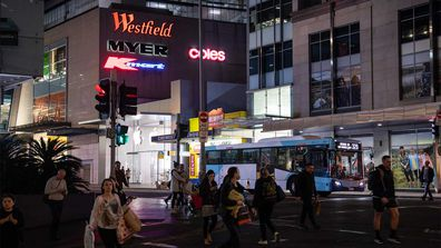 A man caught coronavirus from a 'fleeting' encounter with another shopper at Westfield Bondi.