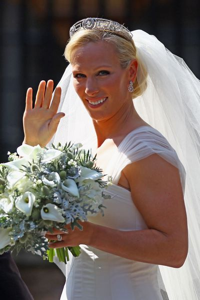 Zara Phillips marries Mike Tindall, July, 2011