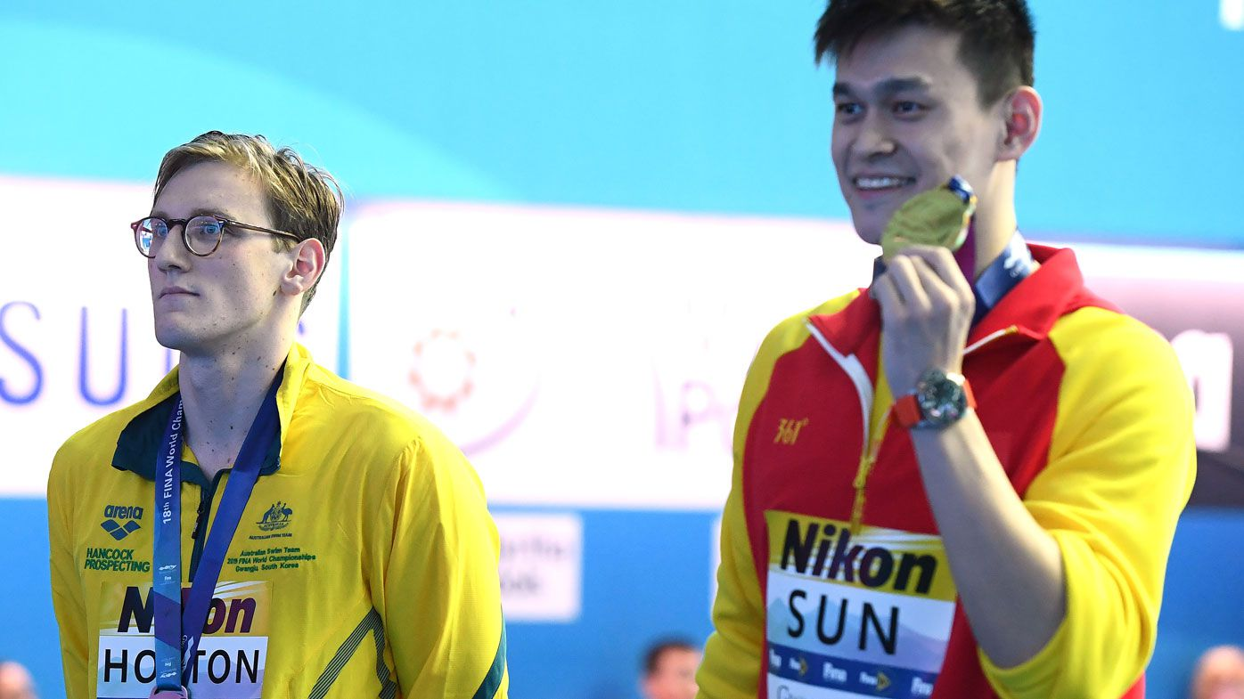 Mack Horton reportedly snubbed by old school due to feud with Chinese megastar Sun Yang