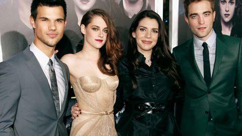 Taylor Lautner, Kristen Stewart, Stephenie Meyer and Robert Pattinson