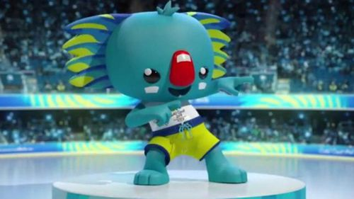 Borobi is the official 2018 Commonwealth Games mascot.