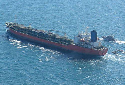 South Korean tanker in Persian Gulf (Getty)