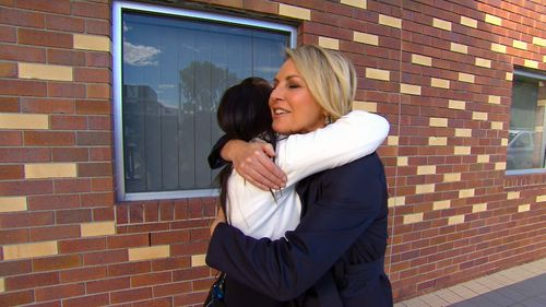 Ms O'Brien has shared her story with Georgie Gardner on TODAY.
