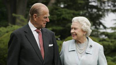 Queen Elizabeth II and Prince Philip, The Duke of Edinburgh re-visit Broadlands,  to mark their Diamond Wedding Anniversary on November 20.