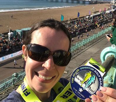 Lara is a marathon runner who uses the app Strava.