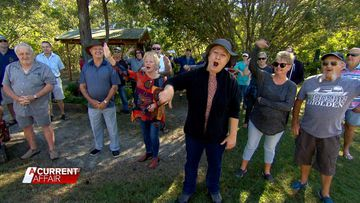 Caravan park pensioners fight rent increase
