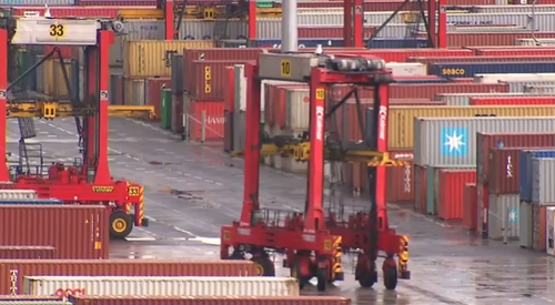 About 200 wharfies will lose their job at ports in Melbourne and Sydney after industrial action.