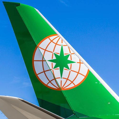 An Eva Air flight attendant has accused a disabled passenger of sexual harrassment after she was forced to help him go to the toilet.