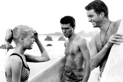 The original surf movie! Sandra Dee plays Gidget, a spunky teen who has an incredible summer full of surfing and romance. Sigh.