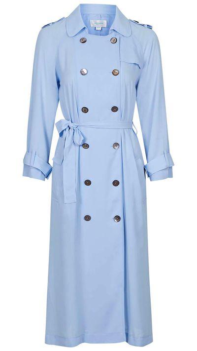 "<a href=""http://www.topshop.com/en/tsuk/product/clothing-427/jackets-coats-2390889/scandinavia-longline-trench-duster-by-jovonna-4315696?bi=1&ps=200""> Scandinavia Longline Trench Duster, $125 approx, Topshop</a>"