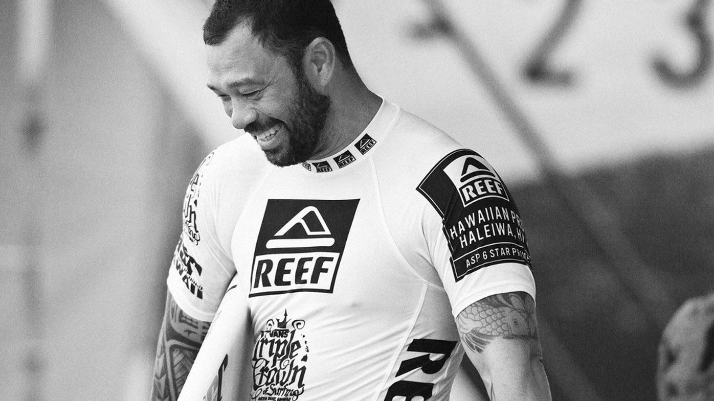 Sunny Garcia has been hospitalised