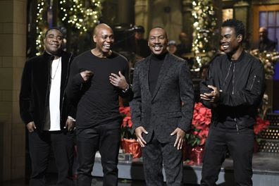 Eddie Murphy, Tracy Morgan, Dave Chappelle, Chris Rock, Saturday Night Live