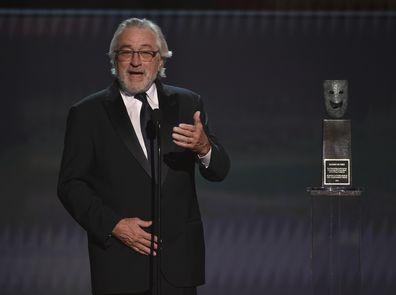 Robert De Niro, speech