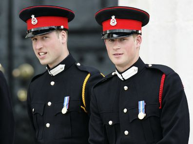 Prince Harry attend The Sovereign's Parade at the Royal Military Academy at Sandhurst.