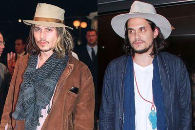 Wear cowboy hats.