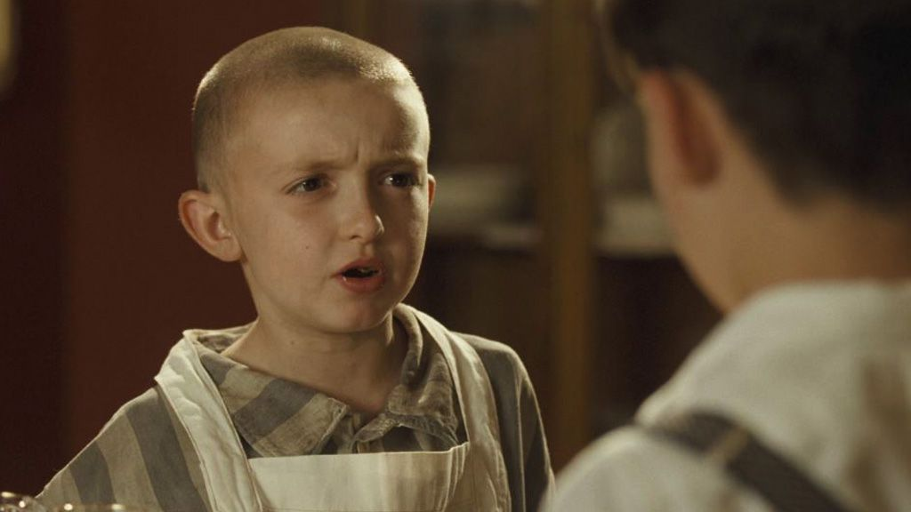 The Boy In The Striped Pajamas explores the Holocaust through the eyes of innocence. Image: Miramax