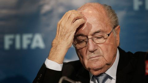 Ex-FIFA President Sepp Blatter