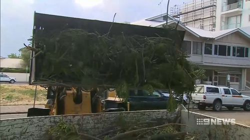 Hundreds of thousands of dollars of damage is expected to be racked up as a result of the storm.