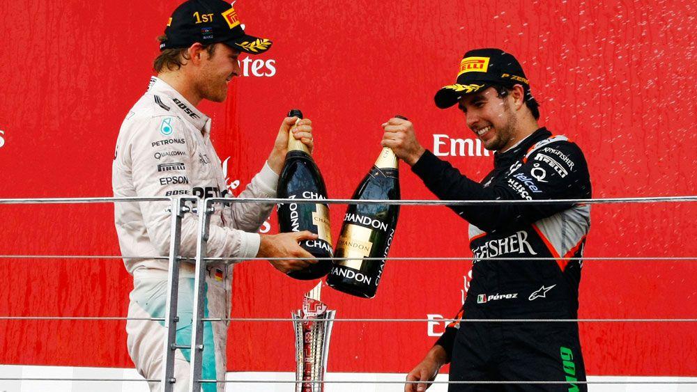 Rosberg wins European GP in Azerbaijan
