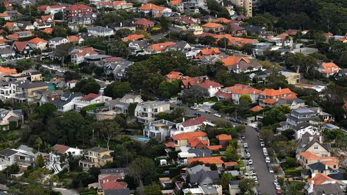 Australia's housing price bubble is slowly deflating, according to data recorded over the past year. Picture: Getty.