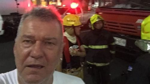Jimmy Barnes and family narrowly escape Bangkok blast