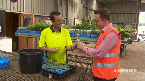 The contract comes as part of a new state government initiative to boost the social benefits that stem from infrastructure projects. Picture: 9NEWS.