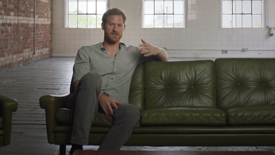 Prince Harry appears in the documentary 'Rising Phoenix'.