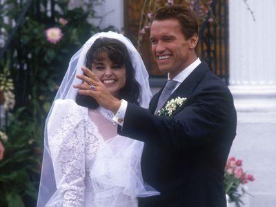 Maria Shriver and Arnold Schwarzenegger