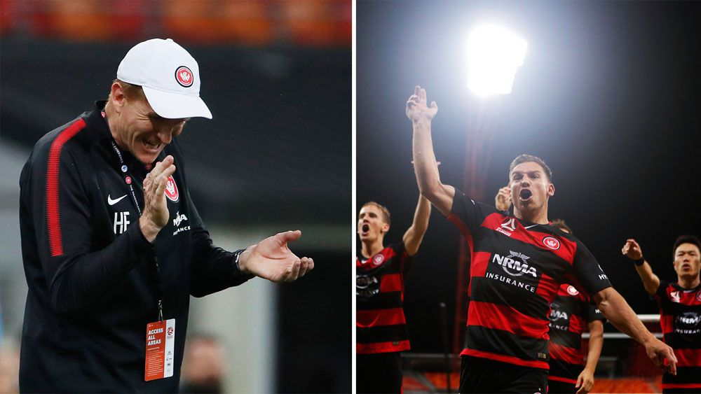 Western Sydney Wanderers win for new A-League coach Hayden Foxe against Perth Glory