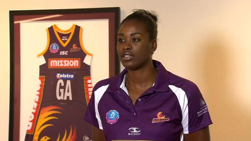 Queensland netballer Romelda Aiken was one of Grott's victims and bravely went public to warn others. (Inside Story)