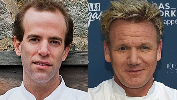 Dan Barber and Gordon Ramsay fir WastED