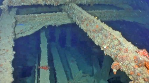 The SS Ventnor, stuck a reef near Taranaki and then sank off the Hokianga Heads.