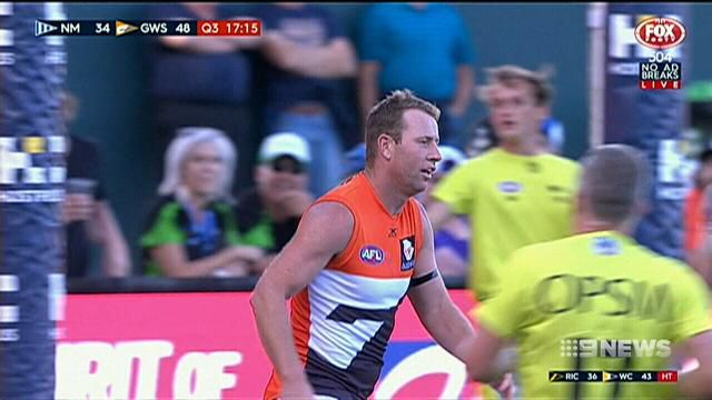 GWS too good for North Melbourne