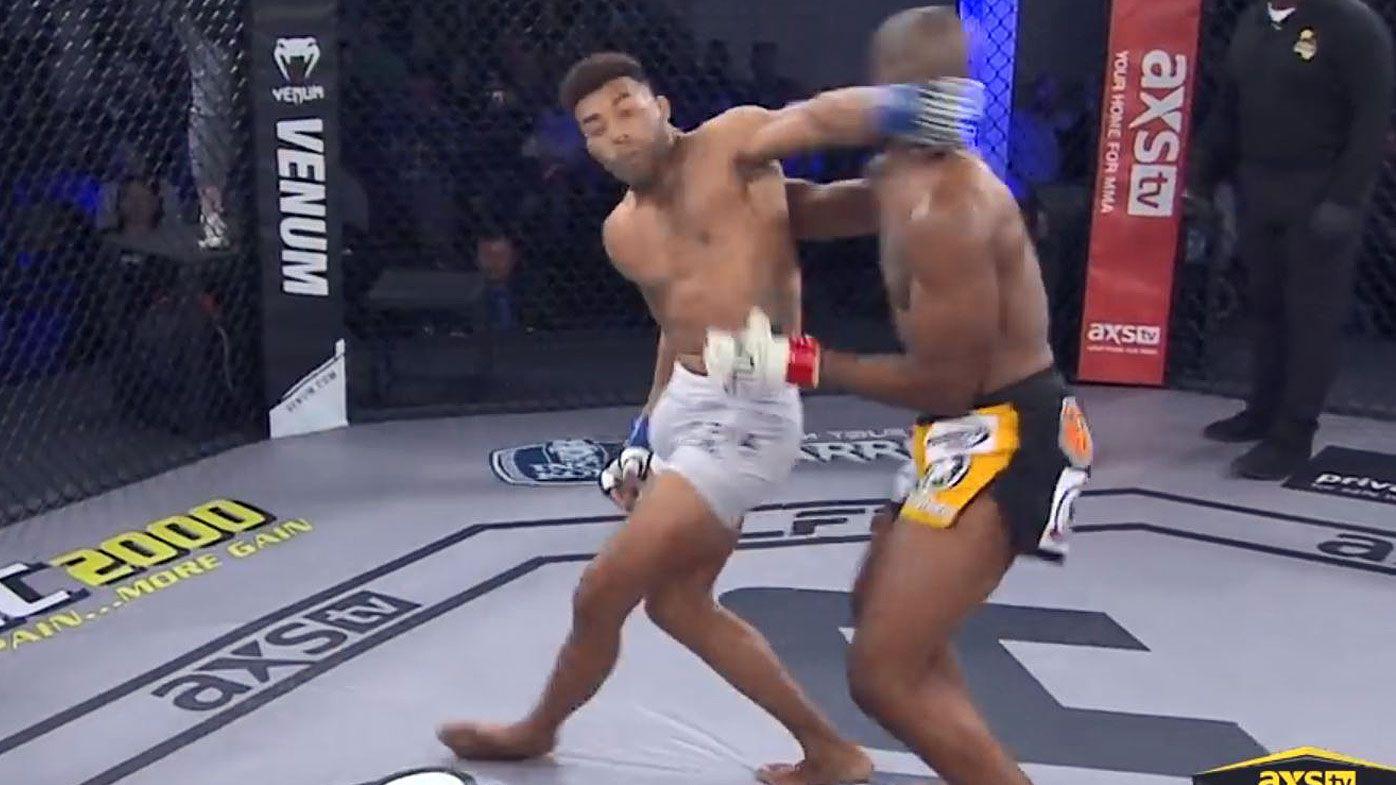 Savage 11-second spinning backfist KO stuns MMA world